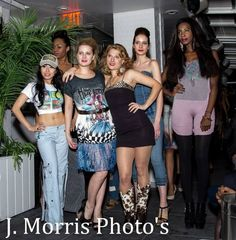 Hillary Flowers fashion show for The Judith Ann Collection