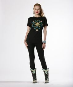 Mississippi Girl Tee - http://ddranchwearwomens.com/apparel-collection/tops/mississippi-girl-tee.html