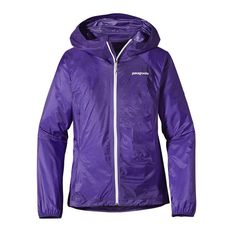 possible jacket for the Camino - 5.6 oz. - Patagonia Women\'s Alpine Houdini\u00AE Jacket - Violetti VLTI