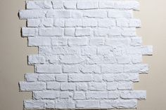 Faux brick panels... these are awesome!