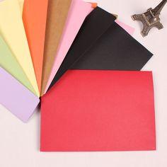 20pcs/lot 7 color western style envelope 25g A5 blank paper pouch envelope seven invitation card envelope 230*162mm