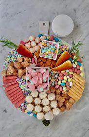 My Sweet Savannah: how to create an Easter dessert board No Bake Lemon Cheesecake, Cheesecake Trifle, Best Sugar Cookie Recipe, Best Sugar Cookies, Mini Pavlova, Red Licorice, Keto Friendly Chocolate, Bunny Cupcakes, Spiced Pecans