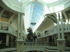 Canal Walk Mall in Cape Town, South Africa. One of the largest malls in the Southern Hemisphere and one of SA's mega malls. (125 000m2)