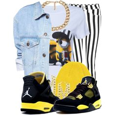 Despicable Me <3, created by nenedopesauce on Polyvore