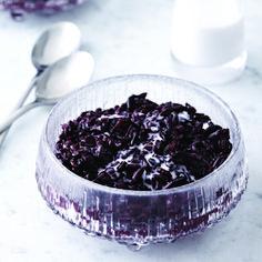 Sexy (black) rice pudding recipe - Chatelaine.com