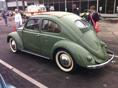 Split window beetle at Tulsa VW Show