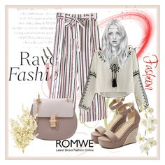 """Romwe 9"" by dinka1-749 ❤ liked on Polyvore featuring Cuero and Pier 1 Imports"