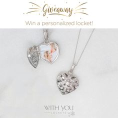 "01e4e7036 Fortunoff Fine Jewelry on Instagram: ""This week's THIRD Giveaway Friday  features the Deirdre With You locket! You have the chance of winning this  beautiful ..."