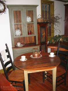 E Braun Farm Tables And Furniture Inc
