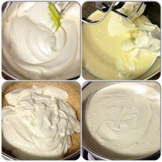 ♥ Cheesecake de Frutas Vermelhas ♥ – Na Cozinha da Poly Cheesecake Torta, Icing, Peanut Butter, Desserts, Berry Cheesecake, Christmas Biscuits, Desert Recipes, Cook, Papa Noel