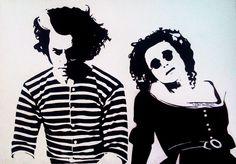 Mrs Lovett, Tim Burton Characters, Tim Burton Art, Spooky Tattoos, Johny Depp, Simplistic Tattoos, Sweeney Todd, Helena Bonham Carter, Tattoos