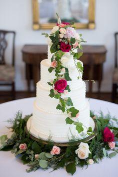 Disney Inspired Wedding Cake - Shane Hawkins Photography