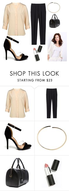 """Business Casual (inspired by Rebecca Ferguson: Mission Impossible)"" by vanessa1200 ❤ liked on Polyvore featuring Diane Von Furstenberg, Rebecca Taylor, Maison Margiela, Yves Saint Laurent, Sigma Beauty, women's clothing, women's fashion, women, female and woman"