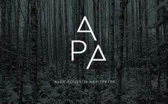 Visuel identitet til Alex Poulsen Arkitekter | re-public #logos