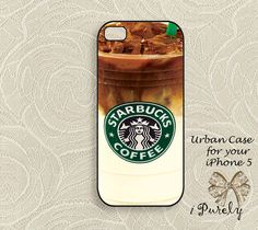Star Bucks IcedCoffee iPhone 5 Case iPhone case iPhone by URHiso, $19.00
