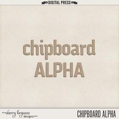 Chipboard Alpha