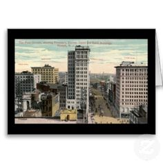 Old Photos of Newark NJ | Four Corners, Newark, NJ c1915 Vintage by markomundo