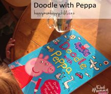 Kiwi Mummy Blogs reviews - Doodle with Peppa Pig