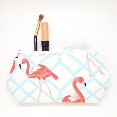 Large Flamingo Cosmetic Bag Luggage Travel Storage Nautical Bag Make Up Bag | eBay