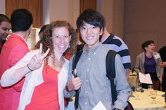University of Oregon American English Institute - Int'l students enjoying the New Student Orientation Luncheon. studyusa.com