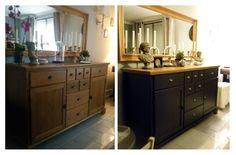 Ikea Markor, Ikea Hack, Buffet Ikea, Black Furniture, Hygge, Sideboard, Armoire, Home Improvement, Sweet Home