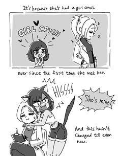 Please Be Merciful :: Ep.03 Pharah, Mercy and Genji | Tapastic Comics - image 3