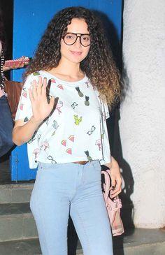 Kangana Ranaut spotted at the Olive Kitchen & Bar. #Bollywood #Fashion #Style #Beauty