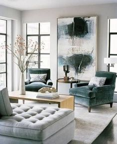 Use these gorgeous modern living room ideas, even if you have a small living room, as a starting point for your next decorating project. ok #livingroom #livingroomideas