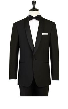 2014  New Custom made black wedding suits for mens 3 pieces suits (jacket+Pants+tie)CM7271 $259.00