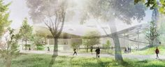 Render Ster van de Week - House of Hungarian Music van Sou Fujimoto - nieuws - nieuws - de Architect