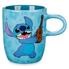 Disney Lilo and Stitch Playing Ukulele Ceramic Mug Cup Disney Coffee Mugs, Cute Coffee Mugs, Cool Mugs, Lilo And Stitch Quotes, Lilo And Stitch Ohana, Citations Lilo Et Stitch, Jack Skellington, Cadeau Disney, Nightmare Before Christmas