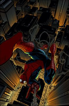 #Spiderman #Fan #Art. (MA Spider-Man 44 Cover) By: ChrisShields. ÅWESOMENESS!!!™ ÅÅÅ+