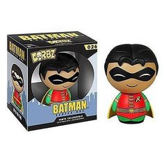 Product Info These pint-sized rascals will weasel their way into your heart as surely as they'll find their way onto your shelf! The Robin Dorbz Vinyl Figure measures approximately 3-inches tall. This