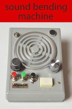 Sound Bending Machine - Intro to Circuit Bending