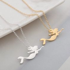 Silver Gold Plated Elephant /& Tree Necklace Small Pendant Chain in Gift Bag//Box