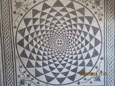 Roman mosaic, San Giusto Cathedral. www,geoffburras.com