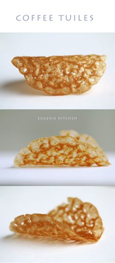 Coffee Tuiles Recipe – Crisp French Wafers with Lace - 5 ingredients only - Eugenie Kitchen