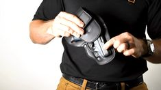"""This is FAQ - Confirming Size"""" by Urban Carry Holsters on Vimeo, the home for high quality videos and the people who love them. Urban Carry, Paddle Holster, Diy Crossbow, Best Concealed Carry, Handgun, Holsters, Self Defense, How To Find Out, Survival"""