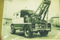Southport bus recovery truck