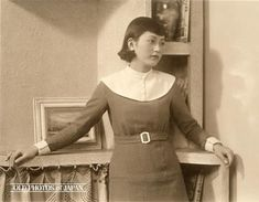 """A """"modern woman"""" of Japan in the 1930s...Beautiful...and without any idea of what her life would be like over the next 15 years or so."""