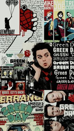 Green Day Logo, Green Day Poster, Green Day Band, Green Day Meme, Billy Green Day, Green Day Billie Joe, Rock Band Posters, Rock Poster, Band Wallpapers