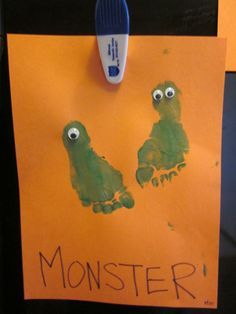 M is for Monster {Preschool Alphabet}