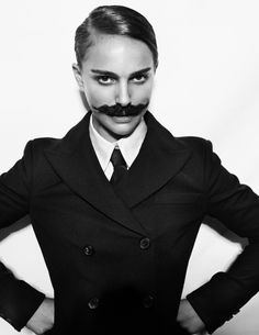 If #NataliePortman can rock a 'stache, so can you! Sign up to join our 'stache fundraiser and party: http://www.servings.org/event/mustachio/index.cfm