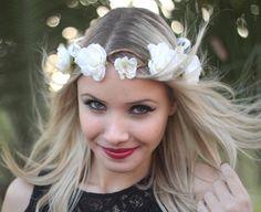Coroinha de Flores Melissa - G.Offer