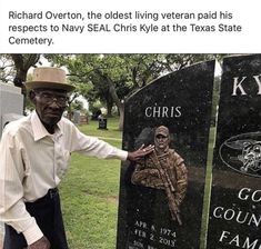 I found this sad and heartwarming. Military Quotes, Military Life, Memorial Day Pictures, Chris Kyle, I Love America, African American History, British History, Native American, Real Hero