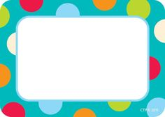 7 Best Images of Polka Dot Labels Free Printable Name Tags - Free Printable Polka Dot Editable Labels, Free Printable Polka Dot Editable Labels and Free Printable Kindergarten Name Tags Kindergarten Name Tags, Preschool Name Tags, Cubby Name Tags, Cubby Labels, Name Tag For School, Printable Name Tags, Name Tag Templates, Creative Teaching Press, Classroom Labels