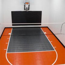 Metal Building With A Basketball Court Stuff I Plan On