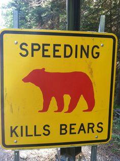 Sign in Yosemite Park