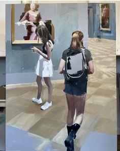 Selling Art, Oil On Canvas, Modern Art, Artwork, Acrylic Paintings, Bubbles, Instagram, Fashion, Moda
