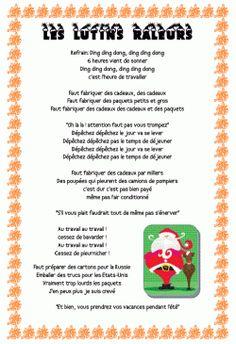 Chant de Noël: les lutins râleurs